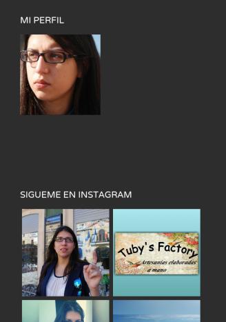 Pérfil e Instagram
