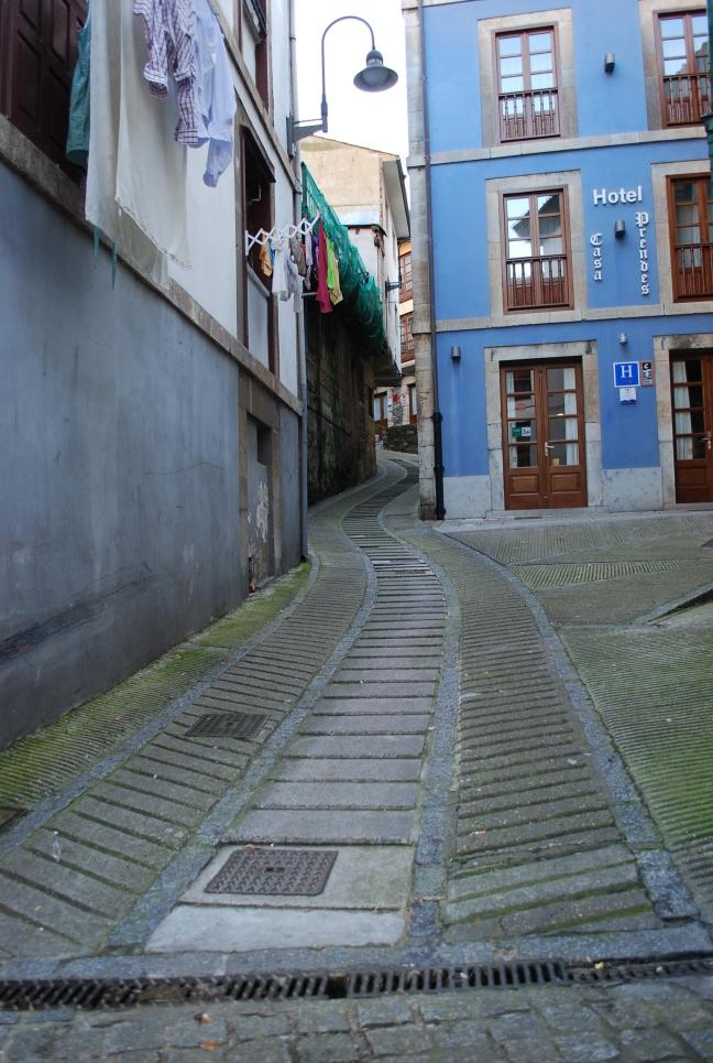calle pendiente