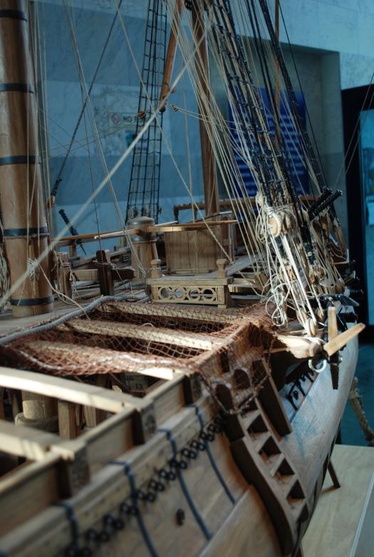 Barco de la entrada