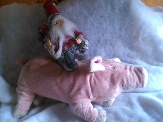 Peluche de cerdo