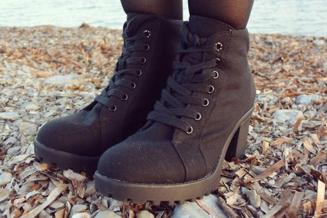 Zapatos tipo bota