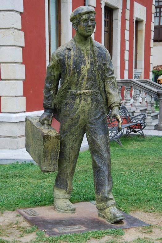 Estatua viajante