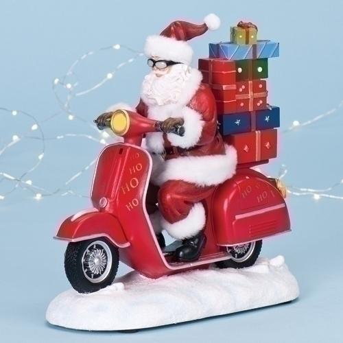 Papa Noel moto